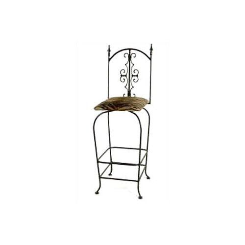 "Grace Collection Gothic 30"" Swivel Bar Stool"