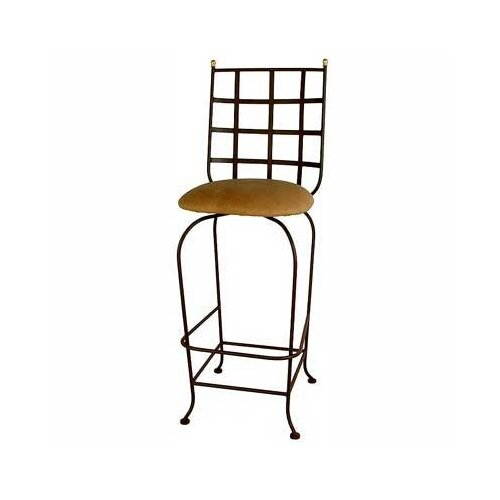 """Grace Collection Westminster 30"""" Swivel Bar Stool"""