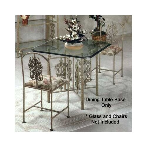 Grace Collection Rose Garden Medium Dining Table Base