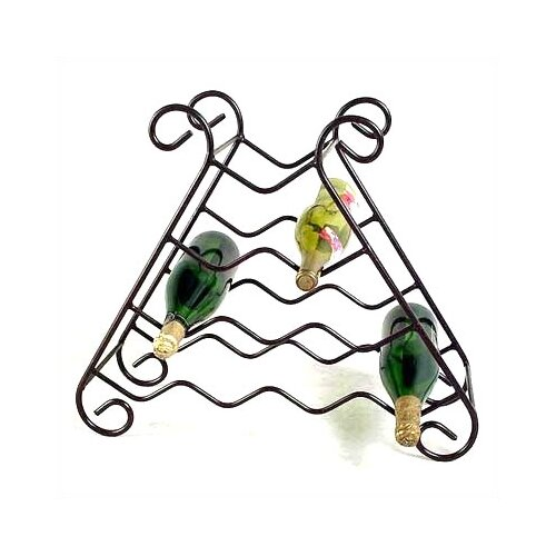 Grace Collection 10 Bottle Wine Rack