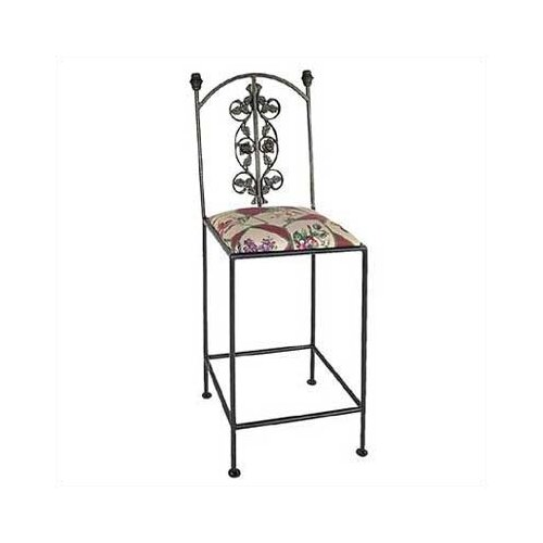 Grace Collection Rose Bar stool
