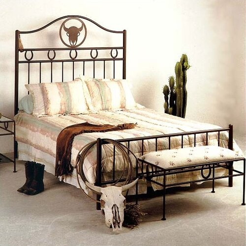 Grace Collection Frontier Wrought Iron Bed