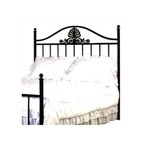 Grace Collection Coronet Wrought Iron Headboard
