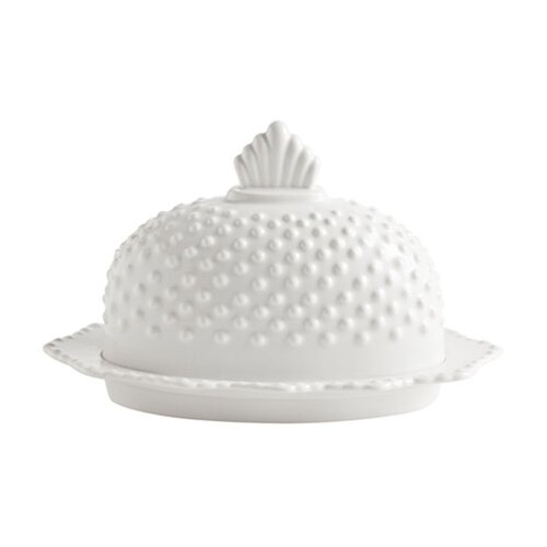 Rosanna Farmhouse Pantry Hobnail Butter Dish