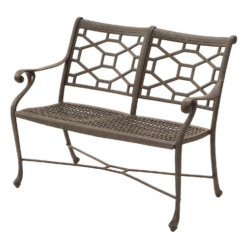 Suncoast Presidio Aluminum Entryway Garden Bench