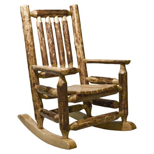 Montana Woodworks® Glacier Country Log Child's Rocking Chair