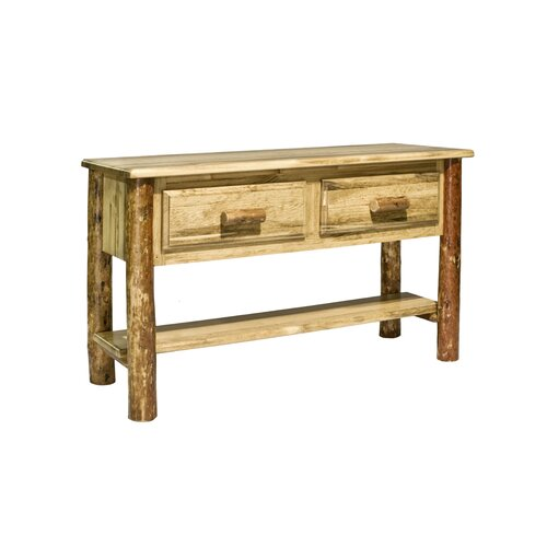 Glacier Country Entry Console Table