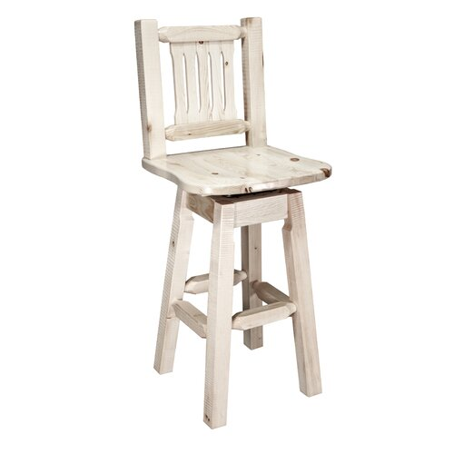 "Montana Woodworks® Homestead 30"" Swivel Bar Stool"