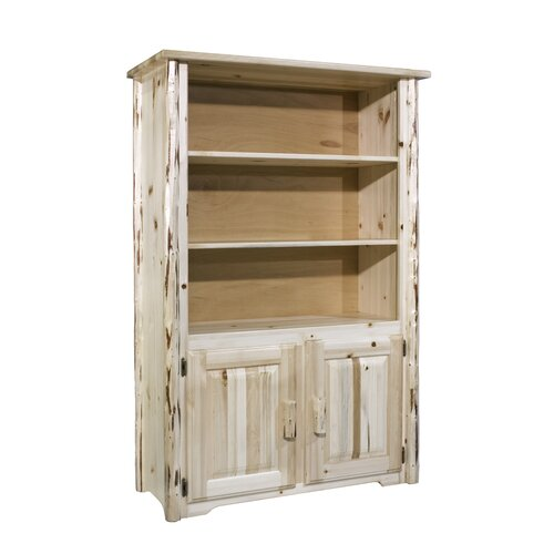 Montana Woodworks® Bookcase with Storage