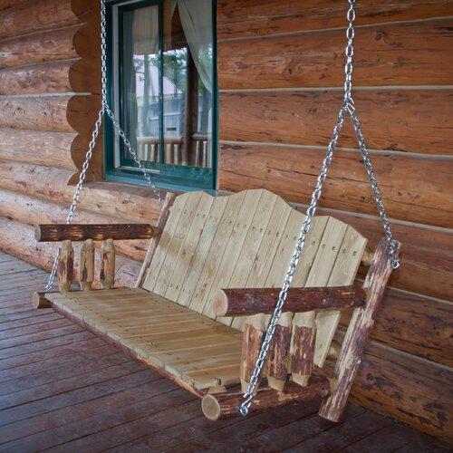 Montana Woodworks® Glacier Country Porch Swing
