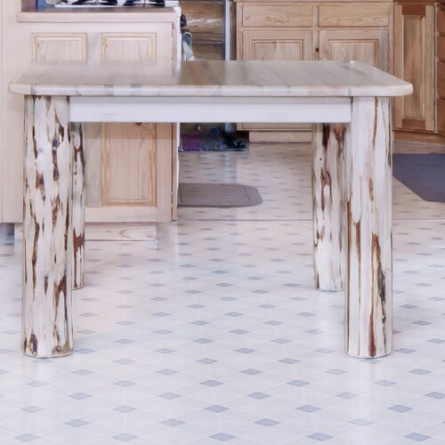 4 Post Square Dining Table