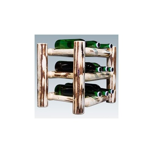 Montana Woodworks® Montana 9 Bottle Tabletop Wine Rack