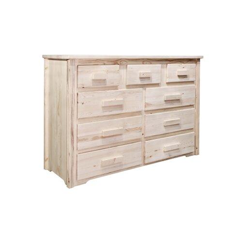 Montana Woodworks® Homestead 9 Drawer Dresser