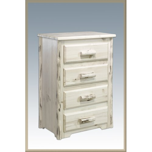 Montana Woodworks® 4 Drawer Chest