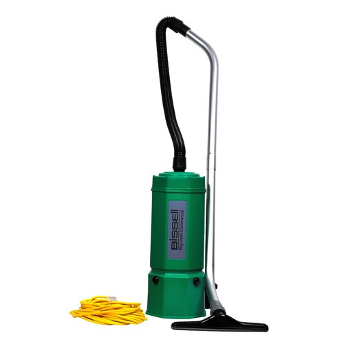Bissell BigGreen Commercial Lightweight Commercial Backpack Vacuum Cleaner