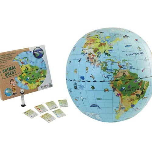 Animal Quest Globe and Game