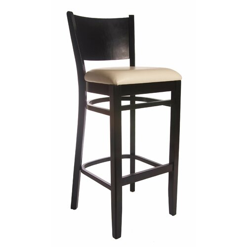 Beechwood Mountain LLC Winston Bar Stool with Cushion