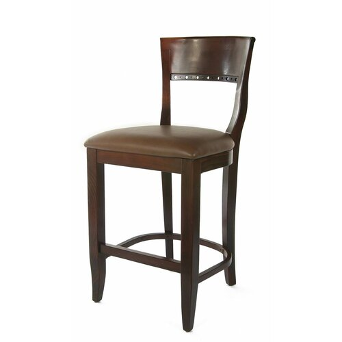 Biedermier Bar Stool with Cushion