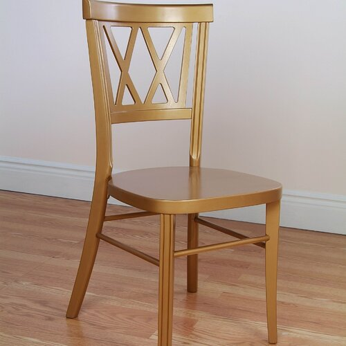 Beechwood Mountain LLC Double X Stackable Side Chair