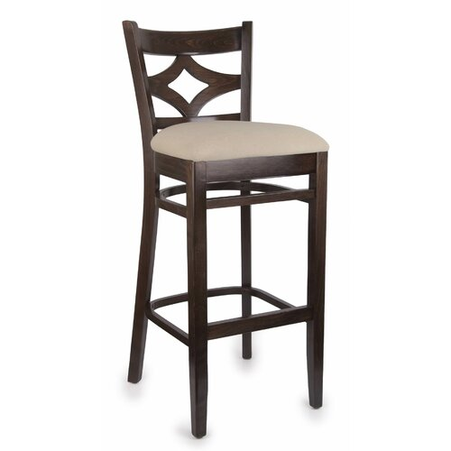 Beechwood Mountain LLC Rego Bar Stool with Cushion