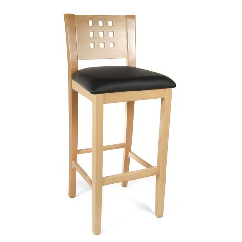 Dove Bar Stool with Cushion