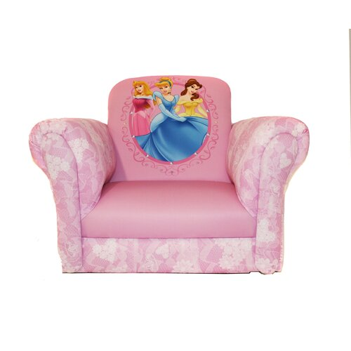 Disney Princess Hearts and Crowns Rocker in Pink