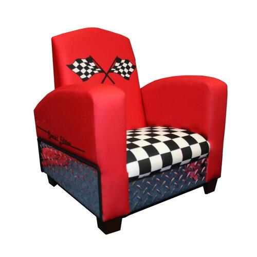 Harmony Kids Magical Race Car Chair