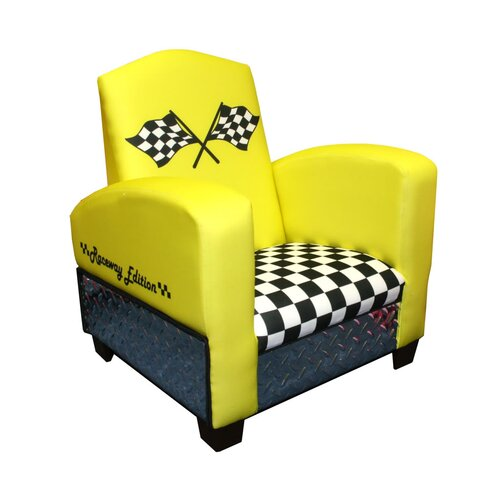 Harmony Kids Magical Race Car Chair