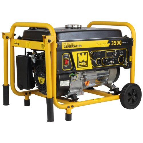 3500 Watt Gasoline Generator with Wheel Kit