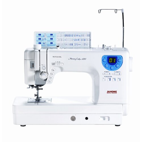 Janome MC-6300 Professional Heavy-Duty Computerized Quilting Sewing Machine
