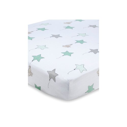 aden + anais Muslin Fitted Crib Sheet