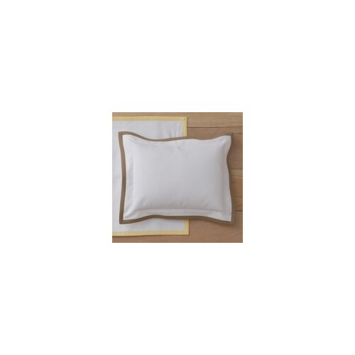 Pique Tailored Cotton Boudoir Pillow