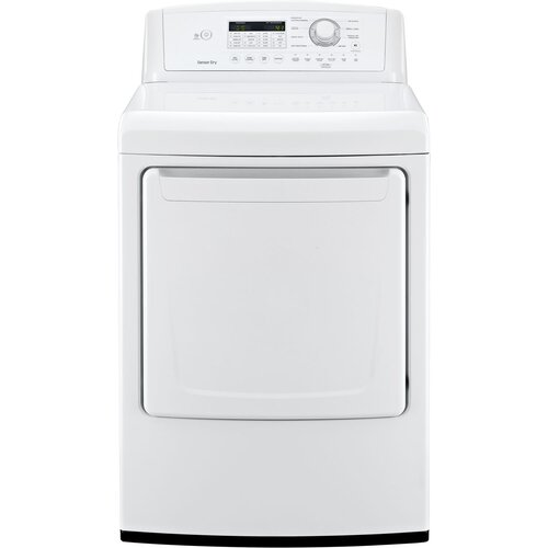 LG 7.3 Cu. Ft. Gas Dryer with Sensor Dry