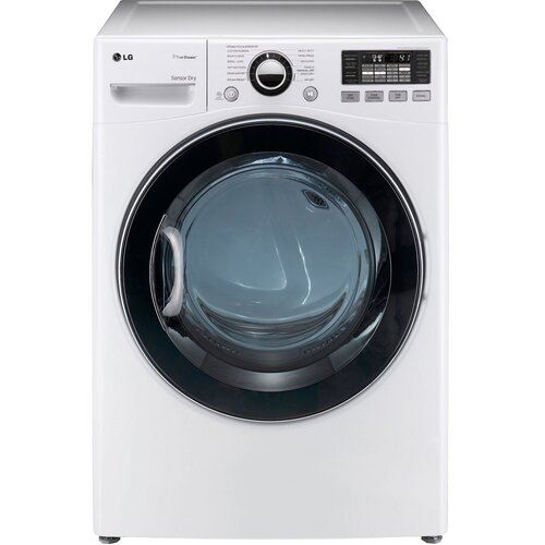 LG 7.3 Cu. Ft. Gas Dryer with TrueSteam Technology