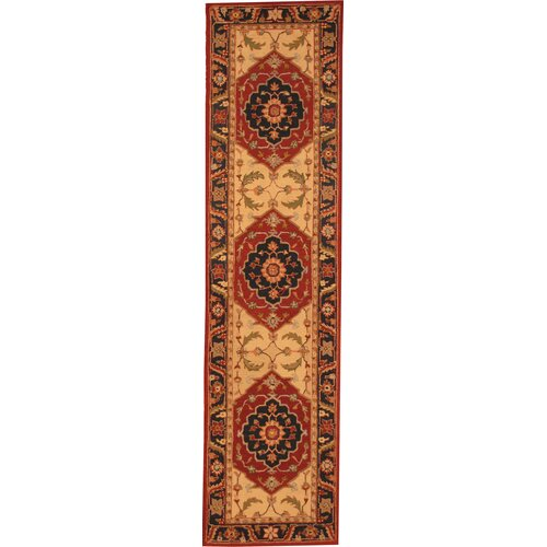 Asian Contemporary Rust Rug