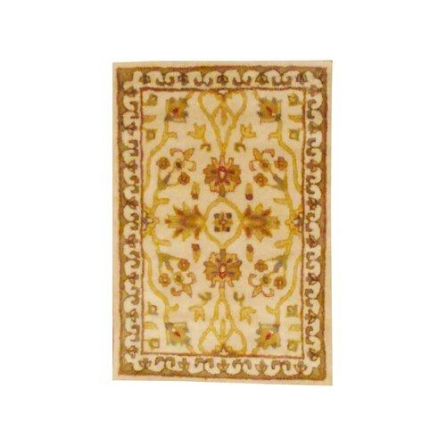 Herat Oriental Indo Floral Beige Rug