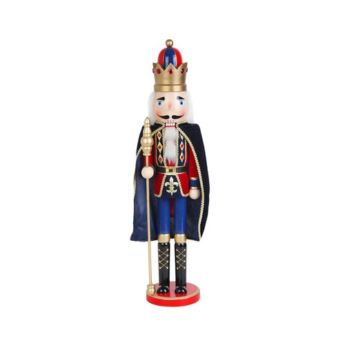 Zest Candle Nutcracker King with Cape