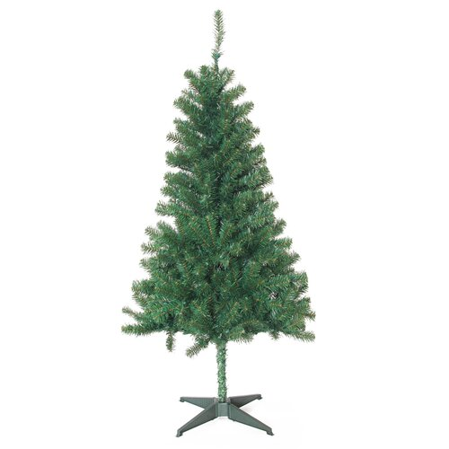 5' Green Pine Artificial Christmas Tree with 200 Clear Lights with Stand