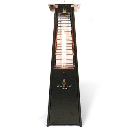 Lava Heat Italia Mini Lava Tabletop Prtopane Patio Heater