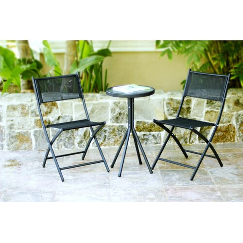 Wicker Lane 3 Piece Bistro Dining Set