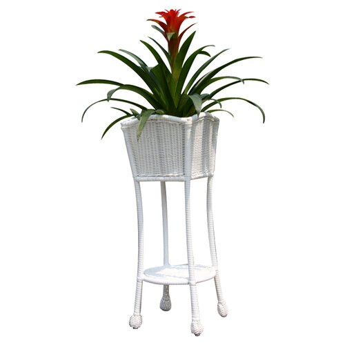 Wicker Lane Wicker Patio Furniture Planter Stand