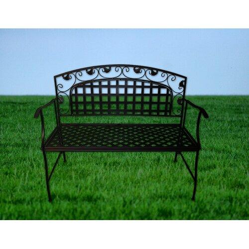 JJ International Amelie Series Metal Garden Bench