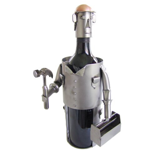 H & K SCULPTURES Carpenter Wine Caddy