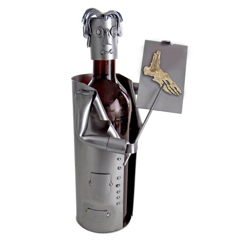 H & K SCULPTURES Doctor Podiatrist Wine Caddy