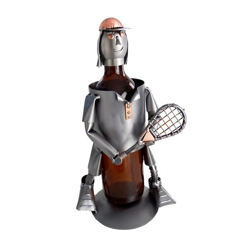 Tennis Female Wine Bottle Holder