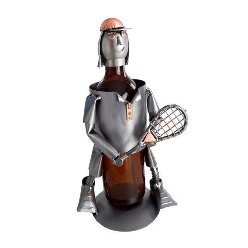 Tennis Female Wine Bottle Holder