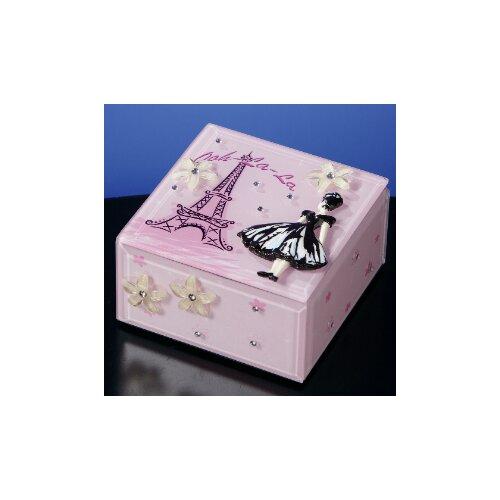 San Francisco Music Box Ooh-La-La Music Jewelry Box