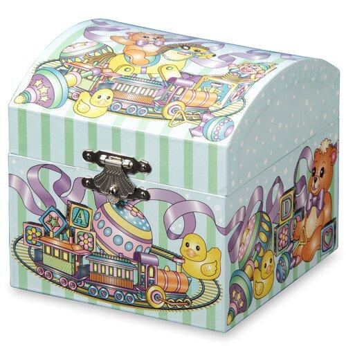 Teddy Bear Toys Musical Treasure Jewelry Box