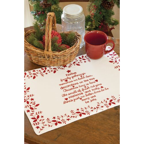 Heritage Lace Christmas Time Placemat