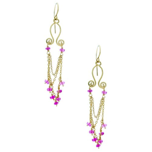 Chandelier Tourmaline Drop Earrings
